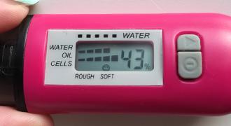 1カ月体験の水分チェッカー