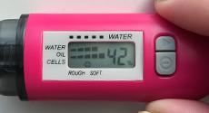 体験1週間目の水分チェッカー